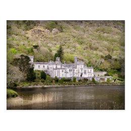 Kylemore Abbey Castle in Ireland Postcard