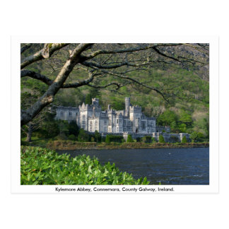 Kylemore Abbey Connemara Co Galway Postcard