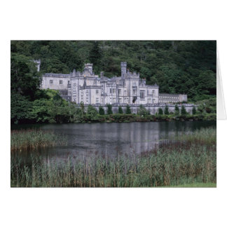 Kylemore Abbey Connemara County Galway Greeting Card