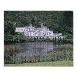 Kylemore Abbey, Connemara, County Galway, Photo Print