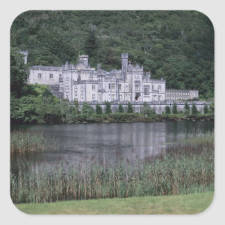 Kylemore Abbey, Connemara, County Galway, Square Sticker