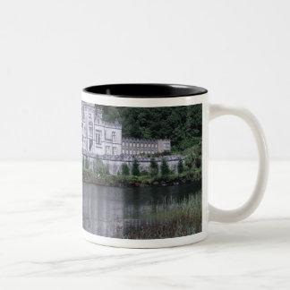 Kylemore Abbey, Connemara, County Galway, Two-Tone Coffee Mug