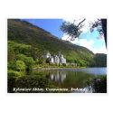 Kylemore Abbey, Connemara, Galway Ireland postcard