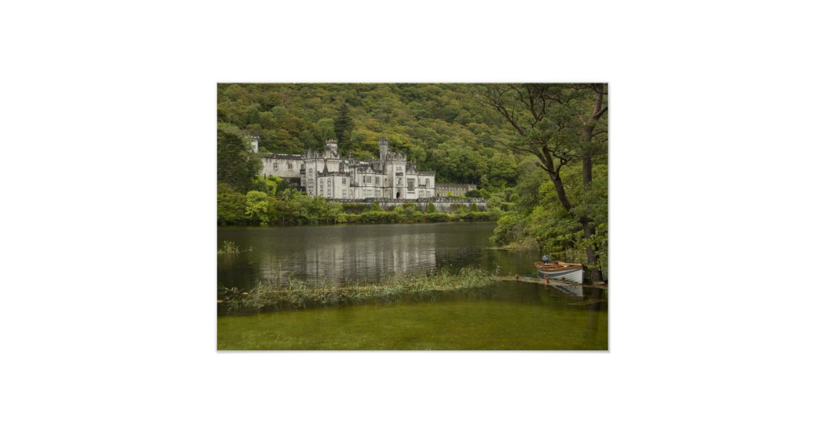Wedding Invitations Galway: Kylemore Abbey, County Galway, Ireland, Poster