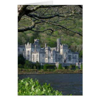 Kylemore Abbey In The Connemara Ireland Greeting Card