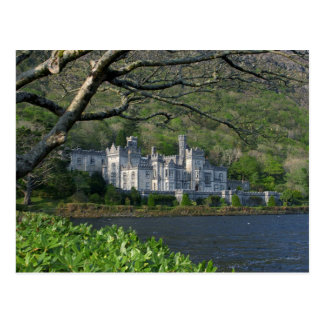 Kylemore Abbey In The Connemara Ireland Postcard