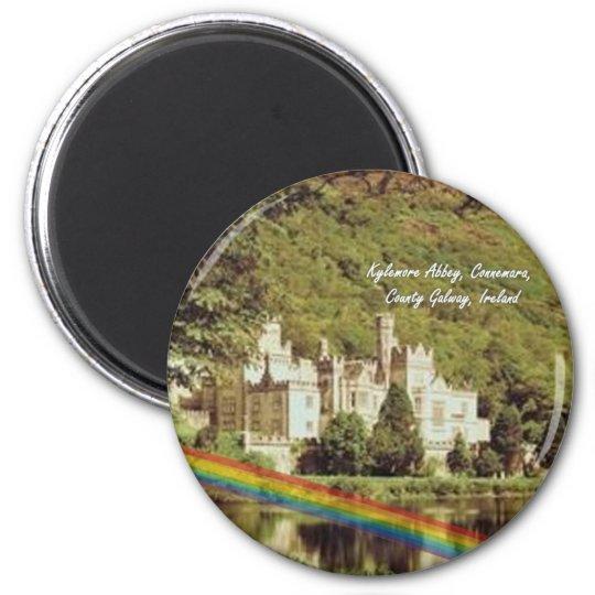 Kylemore Abbey Ireland - Design #2 Magnet