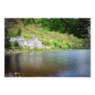 Kylemore Abbey Ireland Photo Print