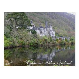 Kylemore Abbey, Ireland Postcard