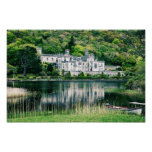 Kylemore Abbey İreland Posters