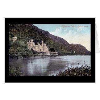 Kylemore Castle Connemara Ireland 1920s Vintage Card