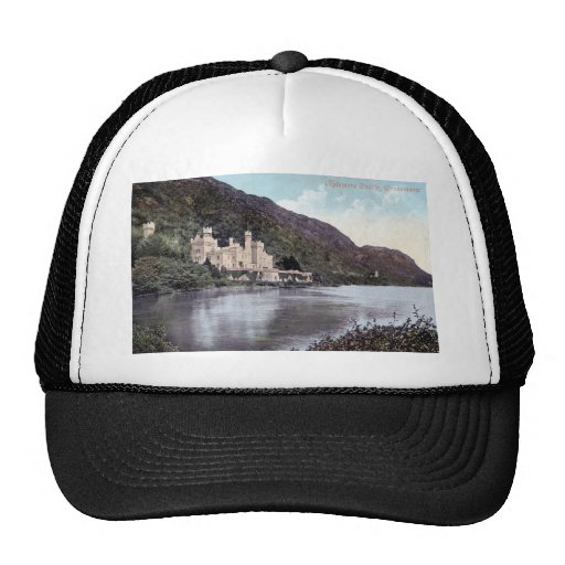 Kylemore Castle Connemara Ireland 1920s Vintage Mesh Hats