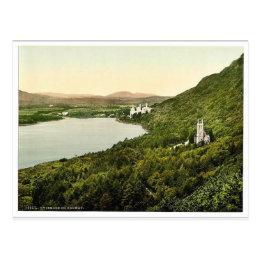 Kylemore. Co. Galway, Ireland magnificent Photochr Postcard