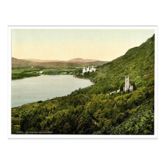 Kylemore. Co. Galway, Ireland magnificent Photochr Postcard