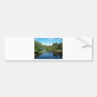 Kylemore Landscape Car Bumper Sticker