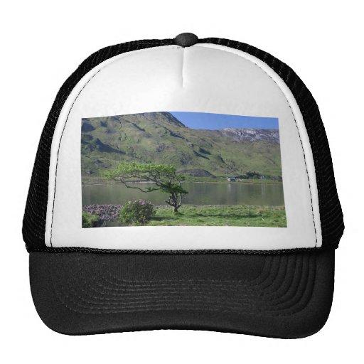 Kylemore Lough Near Kylemore Abbey Mesh Hat