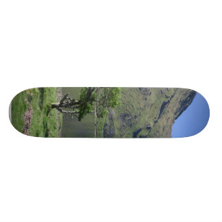 Kylemore Lough Near Kylemore Abbey Skateboard Deck