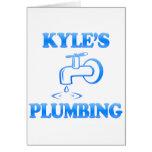 Kyle's Plumbing Greeting Card