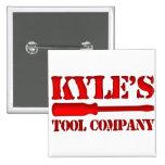 Kyle's Tool Company Pins