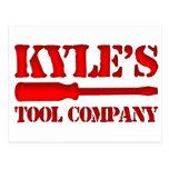 Kyle's Tool Company Postcard