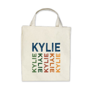Kylie Cute Colorful Canvas Bags