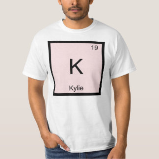 Kylie  Name Chemistry Element Periodic Table T-shirt