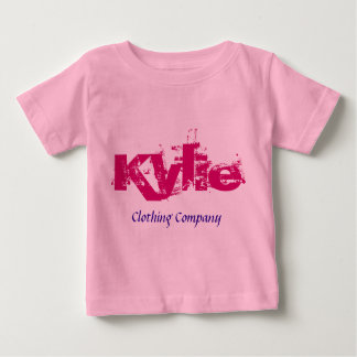 Kylie Name Clothing Company Baby Shirts