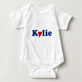Kylie with Heart Baby Bodysuit