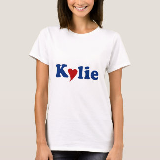 Kylie with Heart T-Shirt