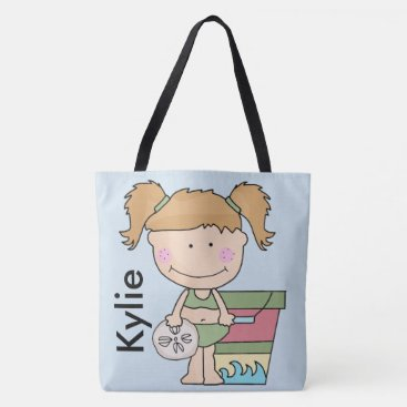 Beach Themed Kylie's Personalized Beach Tote