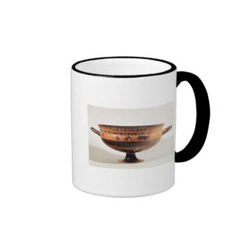 Kylix figurado negro taza