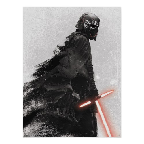 Kylo Ren Remembers Darth Vader Poster