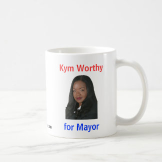 Kym Worthy for Mayor Coffee Mug