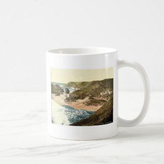 Kynance Cove, Cornwall, England vintage Photochrom Coffee Mug