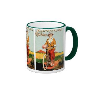 Kynoch Cycyles - arte del poster de la bicicleta d Tazas