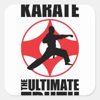 Kyokushin_0001.png Square Sticker