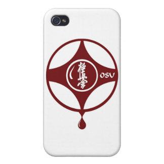 Kyokushin KANKU iPhone 4 Carcasas
