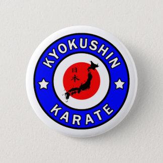 Kyokushin Karate Button
