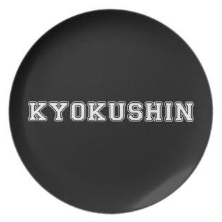 Kyokushin Karate Dinner Plate