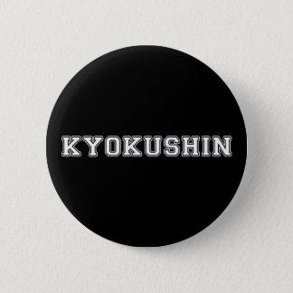 Kyokushin Karate Pinback Button