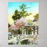 Kyomidzu Shrine 1908 Poster