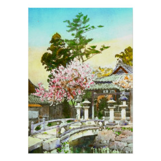 Kyomidzu Shrine 1908 Posters