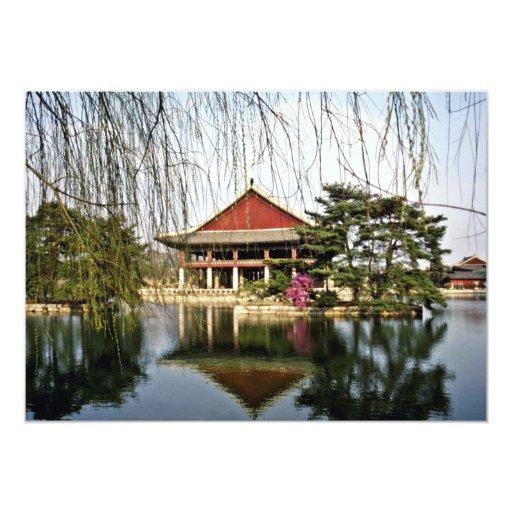 Kyongbokkung - Kyongbuk Palace 5x7 Paper Invitation Card