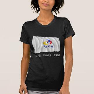 Kyonggi-hace la bandera que agita con nombre t-shirts