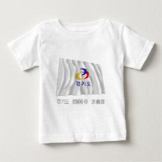 Kyonggi-hace la bandera que agita con nombre tee shirt