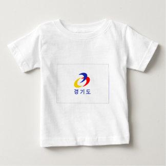 Kyonggi-señale por medio de una bandera camiseta