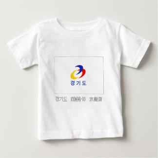 Kyonggi-señale por medio de una bandera con nombre t shirt