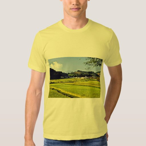 Kyongsangnam-Do - Rice Fields On Namhae Island Tees
