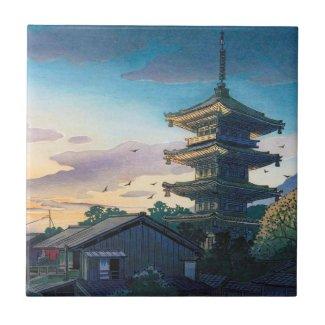 Kyoraku attractions Nomura Yasaka pagoda sunshine