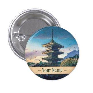 Kyoraku attractions Nomura Yasaka pagoda sunshine Pins